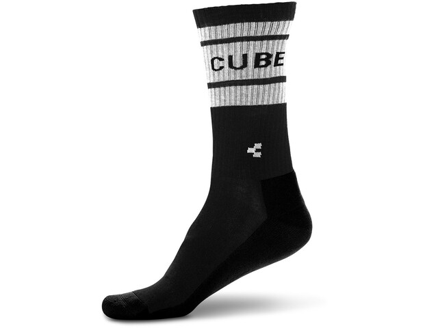 Cube After Race Cycling Socks white/black